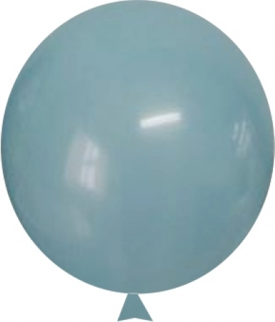BALÃO 9 AZUL TIFFANY HAPPY DAY LISO 50 UN