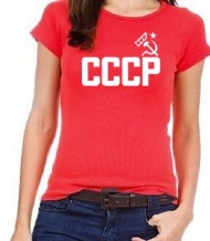 CAMISA BABY LOOK CCCP