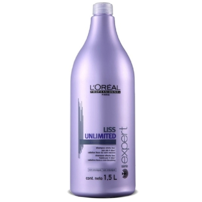 LOREAL PROFESSIONNEL SHAMPOO LISS UNLIMITED 1500ML