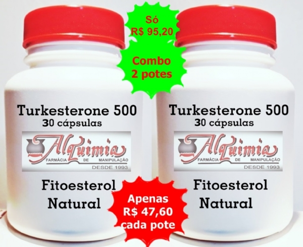 Turkesterone 500 30 cps Combo 02 potes