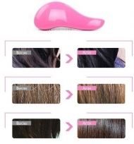 Fashion Magic Easy Detangling Hair Massage Handle Anti-Static Hair Brush Comb Salon Styling Tamer Tool for Women