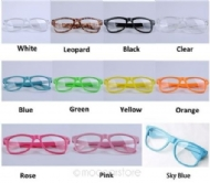 Fashion Designer Vintage Girl glasses Cute Clear Lens Nerd Geek Wayfarer Eyewear