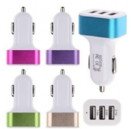 Car Charger Three Port 3.1 a High-capacity Car Adapter