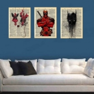 Marvel Batman Print Canva Oil Painting Art Modern Home Wall Living Room Decor
