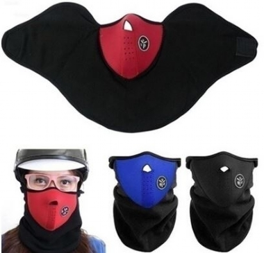 3 Color Unisex Fashion Spring Outdoor Sports Motorcycle Bike Cycling Paintball Filter Guards Dustproof Neck Warmer Face Mask