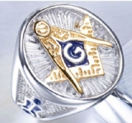 316L Stainless Steel Cool Newest Masonic Freemasonry Newest Ring