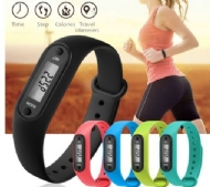 Run Step Watch Bracelet Pedometer Calorie Counter Digital LCD Walking Distance Watches