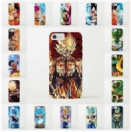 Japanese Anime Dragon Ball Z Goku Super Saiyan Cartoon Printed Clear TPU Soft Phone Case for Iphone 5 5s SE 6 6s Plus 7 Plus
