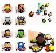 The Avengers Cute Cartoon Fridge Magnet/Magnetic Sticker 8 Heros,Superman,Captain America,Iron man