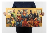 Nostalgic Comics Superheros Decorative Kraft Paper Poster
