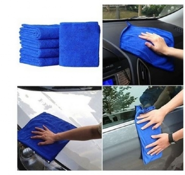 10Pcs Microfibre Cleaning Cloth Towel Car Valeting Polishing Duster Kitchen Wash Fashion-style