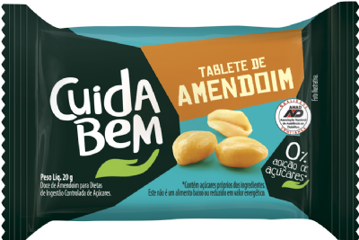 TABLET DE AMENDOIM - 20g
