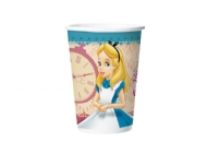 COPO PAPEL ALICE DISNEY 180ML C/8UND