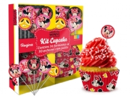 KIT CUPCAKE RED MINIE