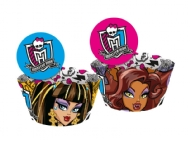 WRAPS P/CUPCAKE ENF MONSTER HIGH KI 12UN