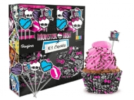 KIT CUPCAKE MONSTER HIGH UND