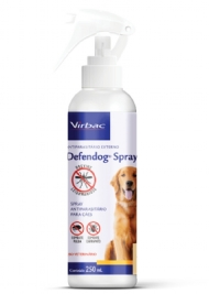 Defendog Spray - 250ml Antiparasitário Para Cães