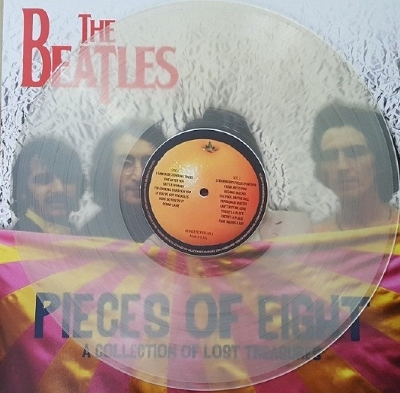 DISCO DE VINIL NOVO - THE BEATLES - PIECES OF EIGHT LP COLORIDO