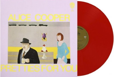 DISCO DE VINIL NOVO - ALICE COOPER - PRETTIES FOR YOU LP 180G COLORIDO