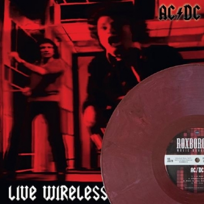 DISCO DE VINIL NOVO - AC/DC - LIVE WIRELESS LP COLORIDO