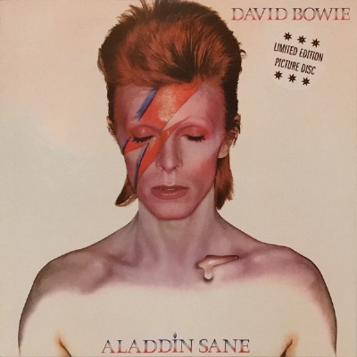 DISCO DE VINIL NOVO - DAVID BOWIE - ALADDIN SANE LP PICTURE DISC