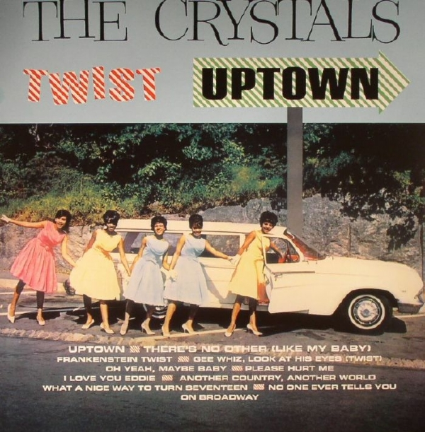 DISCO DE VINIL NOVO - THE CRYSTALS - TWIST UPTOWN LP 180 G