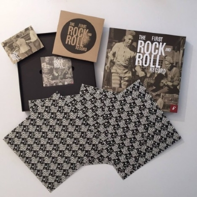 DISCO DE VINIL NOVO - THE FIRST ROCK & ROLL RECORD BOX SET 4LP+3CD+7""