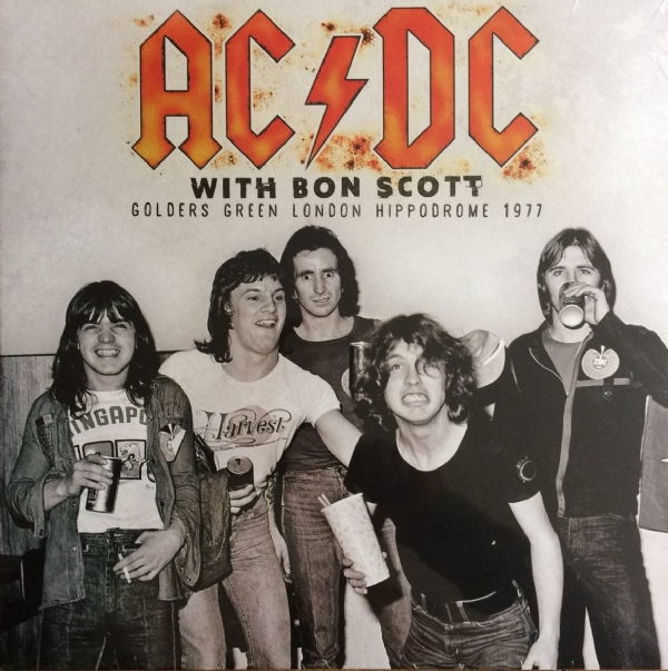 DISCO DE VINIL NOVO - AC/DC - WITH BON SCOTT 1977 LP 180G VINIL BRASIL