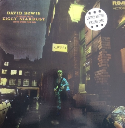 DISCO DE VINIL NOVO - DAVID BOWIE - THE RISE AND FALL OF ZIGGY STARDUST PICTURE DISC