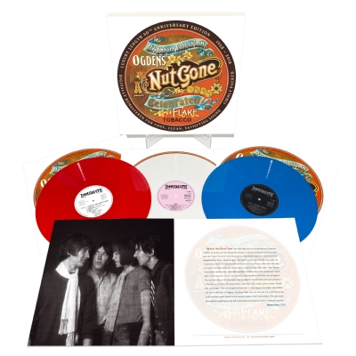 DISCO DE VINIL NOVO - THE SMALL FACES - OGDEN´S NUT GONE FLAKE 50th ANNIVERSARY 03 LP 180 G COLORIDO