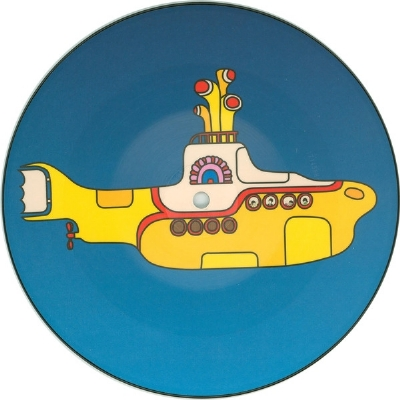 SINGLE DE VINIL NOVO - THE BEATLES - YELLOW SUBMARINE / ELEANOR RIGBY PICTURE DISC