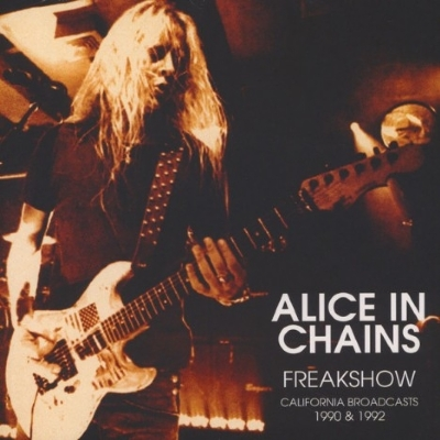 DISCO DE VINIL NOVO - ALICE IN CHAINS - FREAKSHOW CALIFORNIA BROADCASTS 1990 & 1992 LP DUPLO 180 G