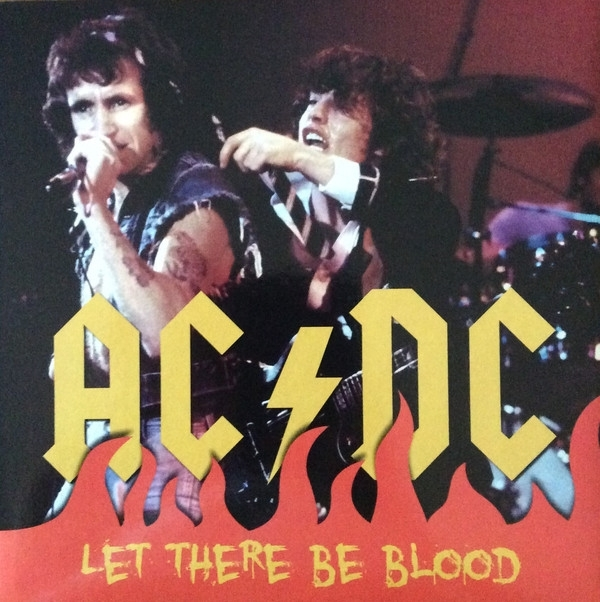 DISCO DE VINIL NOVO - AC/DC - LET THERE BE BLOOD LP COLORIDO