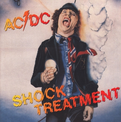 DISCO DE VINIL NOVO - AC/DC - SHOCK TREATMENT LP COLORIDO