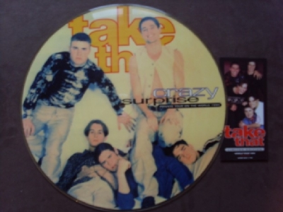 DISCO DE VINIL NOVO - TAKE THAT - CRAZY SURPRISE LIVE 1994 LP PICTURE DISC