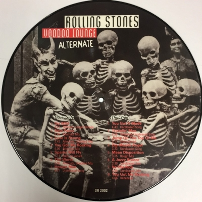 DISCO DE VINIL NOVO - THE ROLLING STONES - VOODOO LOUNGE ALTERNATE LP PICTURE DISC