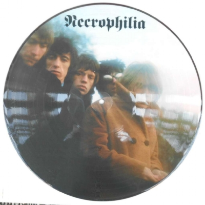 DISCO DE VINIL NOVO - THE ROLLING STONES - NECROPHILIA PICTURE DISC LP