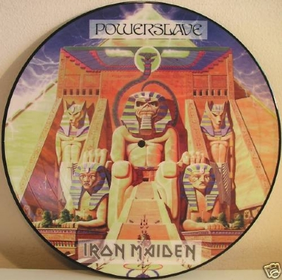 DISCO DE VINIL NOVO - IRON MAIDEN - POWERSLAVE LP PICTURE DISC