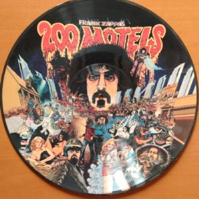 DISCO DE VINIL NOVO - FRANK ZAPPA - 200 MOTELS LP PICTURE DISC
