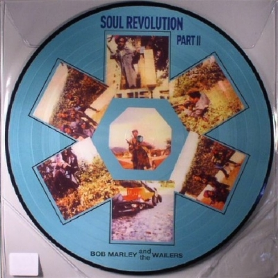 DISCO DE VINIL NOVO - BOB MARLEY & THE WAILERS - SOUL REVOLUTION II LP PICTURE DISC