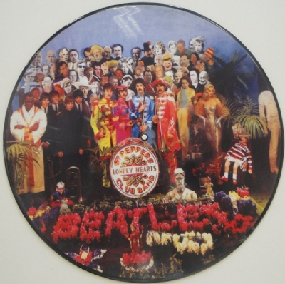 Disco De Vinil Novo - The Beatles - Sgt. Pepper´S Lonely Hearts Club Band Lp Picture Disc