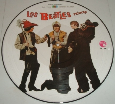 DISCO DE VINIL NOVO - THE BEATLES - PRIMERO PICTURE DISC LP