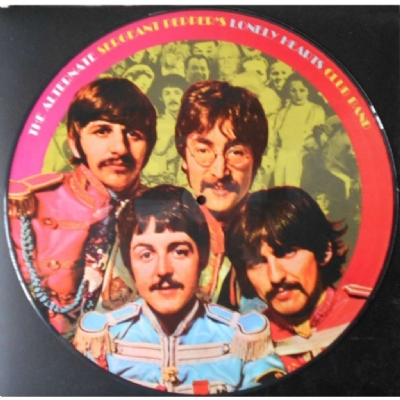 DISCO DE VINIL NOVO - THE BEATLES - THE ALTERNATE SGT. PEPPER´S LP PICTURE DISC