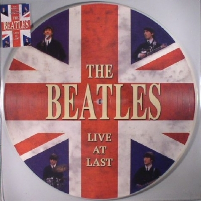 DISCO DE VINIL NOVO - THE BEATLES - LIVE AT LAST LP PICTURE DISC