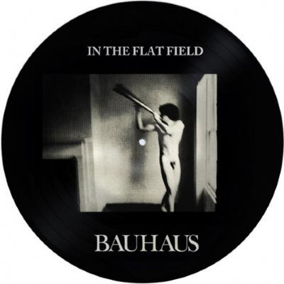 DISCO DE VINIL NOVO - BAUHAUS - IN THE FLAT FIELD LP PICTURE DISC