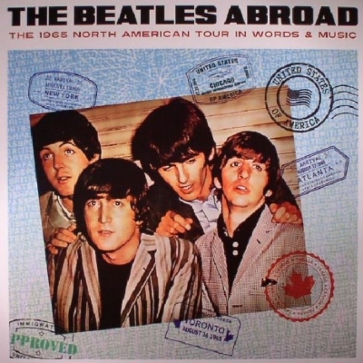 DISCO DE VINIL NOVO - THE BEATLES - ABROAD THE 1965 NORTH AMERICAN TOUR LP COLORIDO