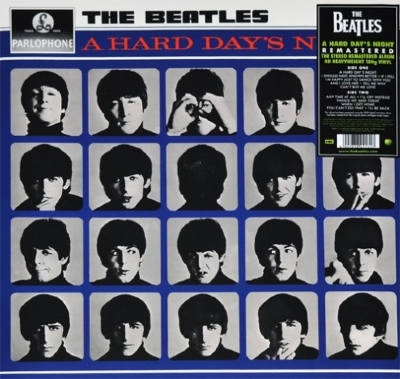 DISCO DE VINIL NOVO - THE BEATLES - A HARD DAY´S NIGHT REMASTER LP 180 G