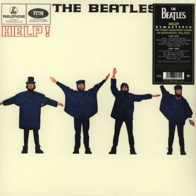 DISCO DE VINIL NOVO - THE BEATLES - HELP! REMASTER LP 180 G