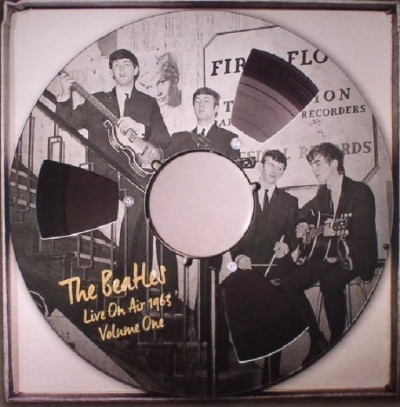 DISCO DE VINIL NOVO - THE BEATLES - LIVE ON AIR 1963 VOLUME ONE 1 LP