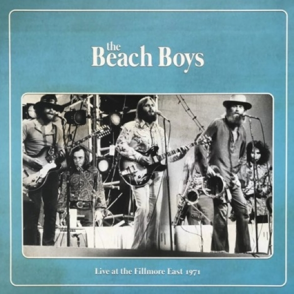 DISCO DE VINIL NOVO - THE BEACH BOYS - LIVE AT THE FILLMORE EAST 1971 LP 180G